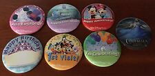 "Walt Disney World Special Occasion 3"" Picture Button Pinbacks from Theme Park"