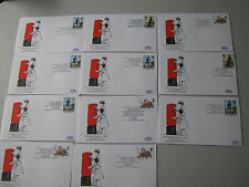 GB Cover New Pillar Box First Day of Use - Various options