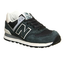 New Balance 574 SMOKEY GREEN Trainers Shoes