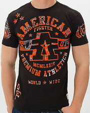 American Fighter AFFLICTION Men T-Shirt YALE Tattoo Biker Gym MMA UFC S-3XL $32
