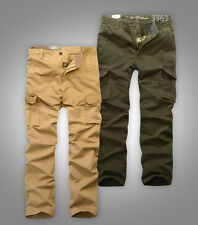 New Mens Military army Cargo Casual Trousers Pants slim fit Jeep brand