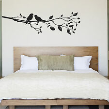 Birds On A Branch Wall Sticker - Birds In A Tree Decal