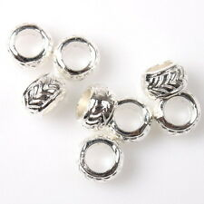 100/500pcs 152674 New Bangle Style Silver Alloy Charms Beads European Bracelet