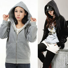NEW Womens Girls Angel Wings Hoodie Jacket Sweatshirt Hooded Coat Outerwear Tops
