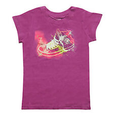 Converse Chuck Taylor All Star Girls Purple Boot T-shirt - All Sizes - BNWTS