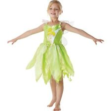 DISNEY FANCY DRESS - TINKER BELL COSTUME DRESS AND WINGS
