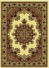Ivory Area Rug 8 x 11 Rugs 8' 11' Traditional Carpet Oriental Carpets 10' 10
