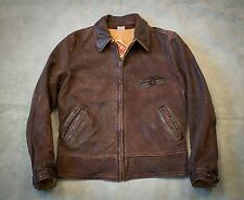 LVC Levi's Vintage Clothing 1940s Reversible sheepskin Leather Jacket BNWT menlo