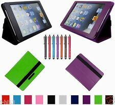 "Carry Leather Case Cover+Gift For 7.85"" Haier D85-B D85-W G781 Android Tablet BW"