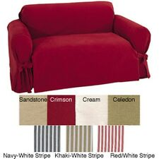 Brushed Twill Chair Slipcover