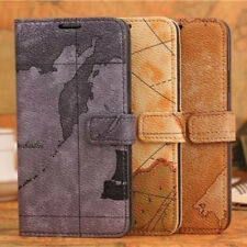 New Retro Luxury Leather Flip Card Wallet Case Cover For Samsung Galaxy S5 I9600