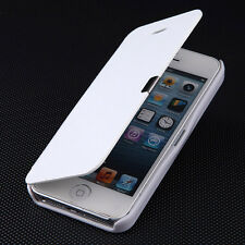 New Magnetic PU Leather Flip Fitted Full Case Cover Pouch For Apple iPhone 5/5S