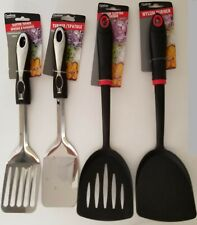 KITCHEN UTENSILS SPATULAS TURNERS Pancake Solid Slotted, SELECT: TYPE OF TURNER