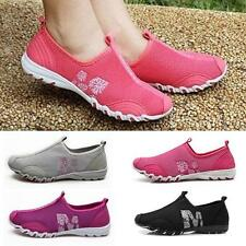 Women Ventilate Casual Gym Walking Slip on Tennis Athletic Shoes Leisure Outdoor