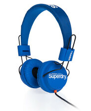 New Superdry Technical Headphones Royal Blue AA