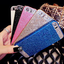 Bling Glitter Sparkle Hard PC Rhinestone DIY Case Cover For iPhone 4 5 S 6 Plus