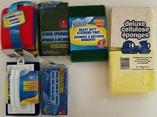 KITCHEN SCRUB SPONGES SPONGE SCOURING PADS, SELECT: Type of Scrubber Sponge