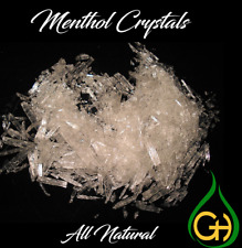 Menthol Crystals 100% PURE, USP Grade  *1oz to 55 Pounds* Free Shipping