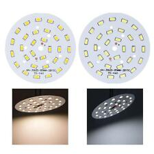 15W Round 5730 SMD 30 LEDs LED Chip Light Lamp Bulb Warm/Cool White DC 45-51V