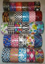 Patterned Duck Brand Duct Tape Roll - 59 Pattern Choices