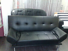Faux Leather Sofa Bed for Sale