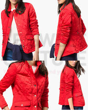 MASSIMO DUTTI (ZARA GROUP) SS15 PADDED BLAZER RED QUILTED JACKET R.6704/680