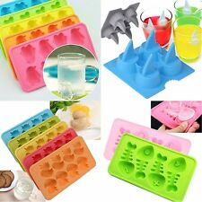 NEW Multi-Shape Jelly Pudding Chocolate Cake Ice Tray Mold Mould Cube Maker
