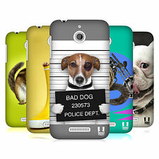 HEAD CASE DESIGNS FUNNY ANIMALS HARD BACK CASE per HTC Desire 510