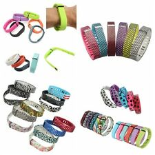 Large/Small TPU Replacement Wristband Band with Clasp For Fitbit Flex Bracelet