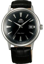 Orient Bambino Dome Crystal Japan Automatic Black Mens Watch FER24004B0 ER24004B