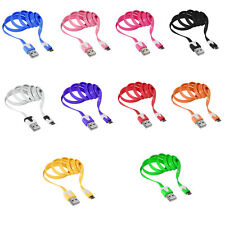Colorful 1M Micro USB Data+Charging Flat Noodle Cable For Mobile Phone & Tablet