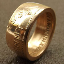 Genuine Australian PENNY Handcrafted into COIN RING, Huge Range of Dates & Sizes
