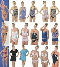 Ladies Tankini Set Swimsuit Swimwear Bikini Halterneck Size 10 12 14 16 NEW