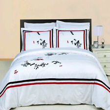 Florence Embroidered 8-PC Bed in a Bag 100% Egyptian Cotton !