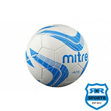 NEW Mitre Ace Football- Machine stitched PVC ball free postage £10.95