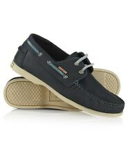 New Mens Superdry Eclipse Shoes Washed Navy