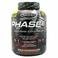 MuscleTech Phase8 4 lbs Phase 8 Multi Phase Protein Brand New Choose Flavor