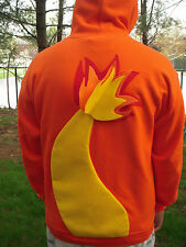 Pokemon Inspired Charmander Hoodie For Adults