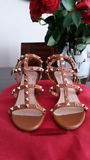 Brand New Rockstud Cage Sandal with Low Heel Size 35