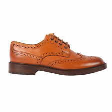 Harrytech London ( HT 700LS)Mens Brogue Derby Goodyear welted Leather Sole Shoe