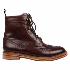 Harrytech London (HT 7008 LSB ) Mens Brogue Boot Goodyear Welted Leather Sole