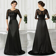 2015 Designer Vintage Lace Evening Gown Party Prom Bridesmaid Pageant Long Dress