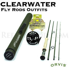 "NEW - Orvis Clearwater 6 weight 9'6"" Fly Rod Outfit 966-4 - FREE SHIPPING!"