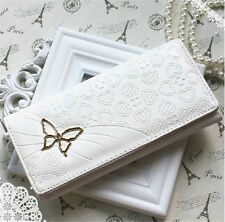 Fashion Lady Women Faux Leather Long Wallet Purse Clutch Bag Coin Card Wallet