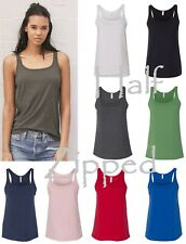 Bella Ladies Relaxed Cotton Tank Top 6488 S-2XL