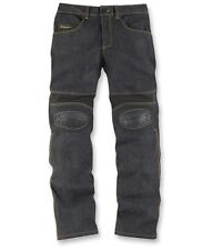 2015 Icon Overlord Mens Denim Motorcycle Riding Protection Street Pant