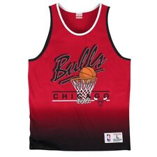 "Chicago Bulls Mitchell & Ness NBA ""Fade"" Premium Tank Top Shirt"