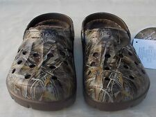 New Men's Size 9 Women's 11 M Realtree Max 5 Camo Dasher Crocs Lined Clog Shoes
