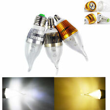 Dimmable E12 E14 E27 6W LED Flame Chandelier Candle Light Bulb Lamp Warm / White