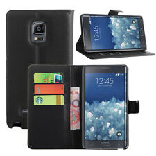 New Luxury Flip PU Leather Stand Wallet Card Case Cover For Samsung Galaxy Phone